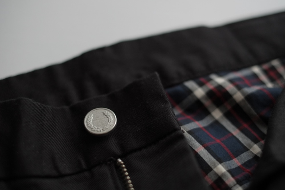 FRED PERRY 5 Pocket Skinny Pants